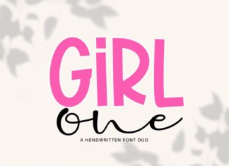 Girl One Font
