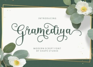 Gramediya Font