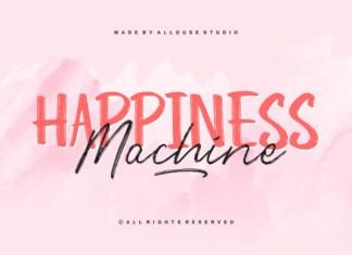 Happiness Machine Duo Font