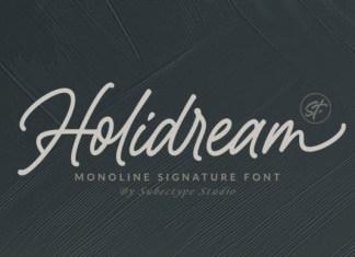 Holidream Font