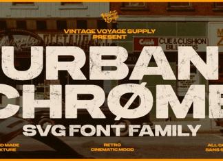 Urbanchrome Font