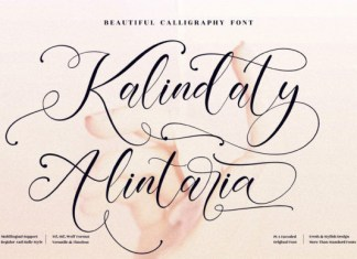Kalindaty Alintaria Font