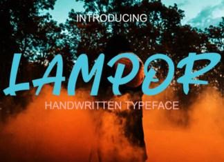 Lampor Font