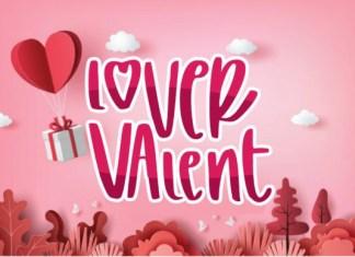 Lover Valent Font