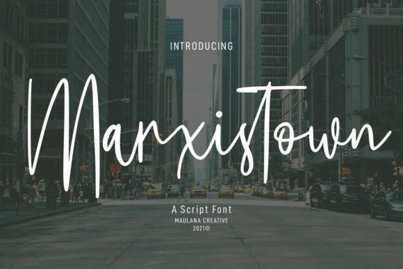 Marxistown Font
