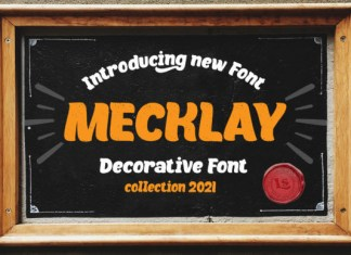 Mecklay Font