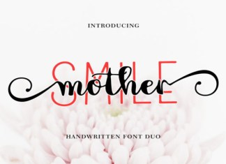 Mother Smile Duo Font