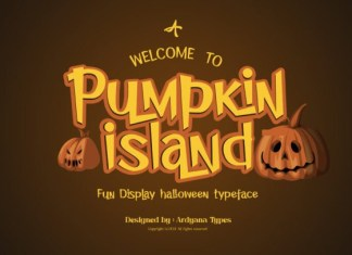 Pumpkin Island Font