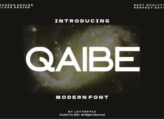 Qaibe Font