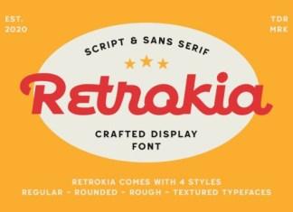Retrokia Font