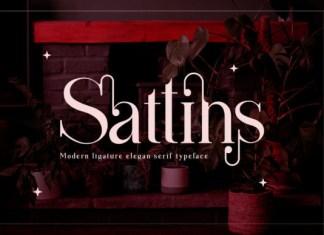 Sattins Font