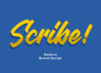 Scribe Font