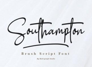 Southampton Font