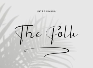The Folk Font