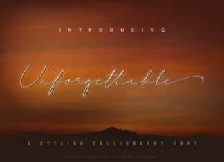 Unforgettable Font