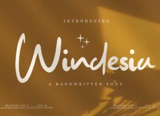 Windesia Font