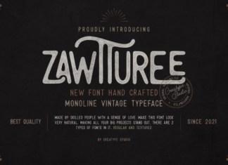 Zawturee Font