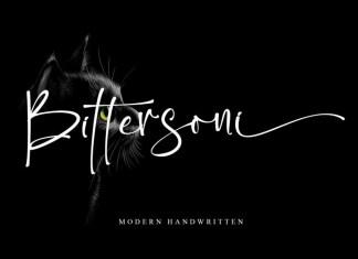 Bittersoni Font