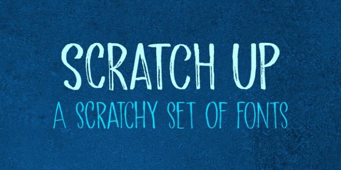 Scratch Up Font