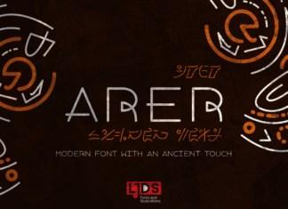 Arer Font