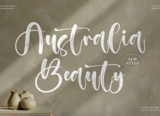 Australia Beauty Font