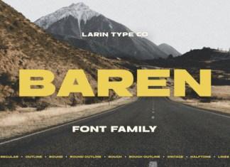 Baren Font