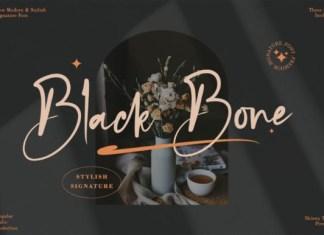 Black Bone Font
