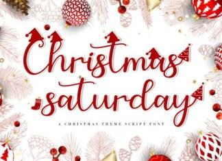 Christmas Saturday Font