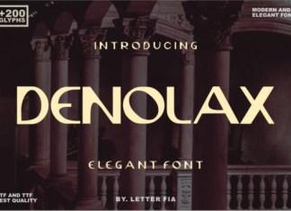 Denolax Font