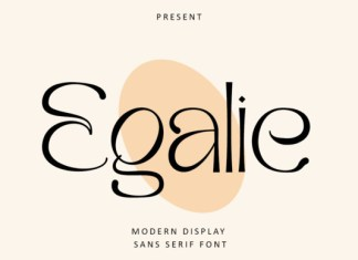 Egalie Font