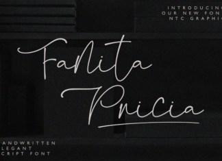 Fanita Pricia Font
