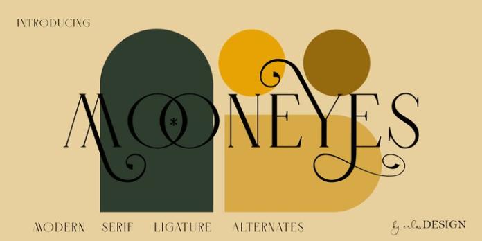Mooneyes Font