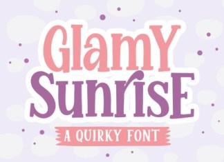 Glamy Sunrise