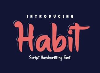 Habit Font