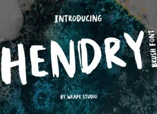 Hendry Font