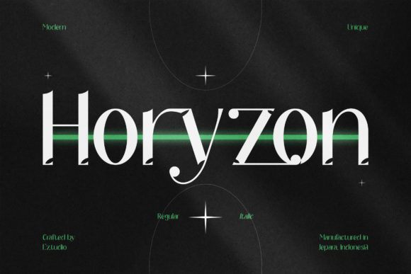 Horyzon Font