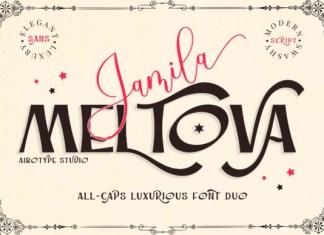 Jamila Meltova Font