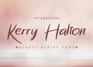 Kerry Halton Font