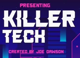 Killer Tech Font