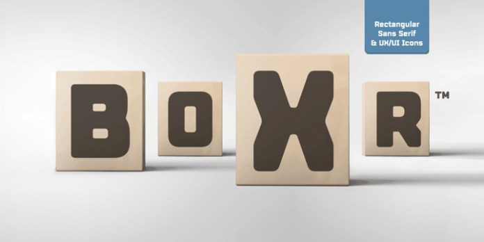 Boxr Font