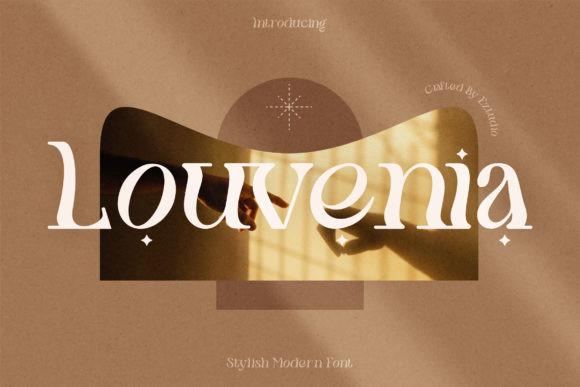Louvenia Font