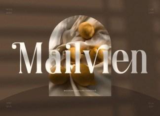 Mailvien Font