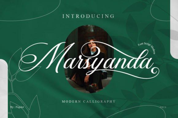 Marsyanda Font