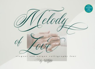 Melody of Love Font