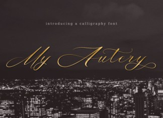 My Autery Font