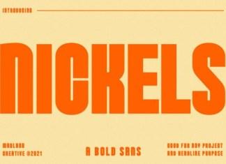 Nickels Font