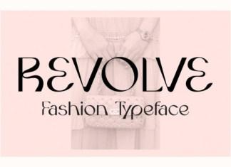 Revolve Font