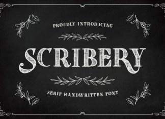 Scribery Font