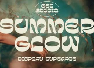 Summer Glow Font