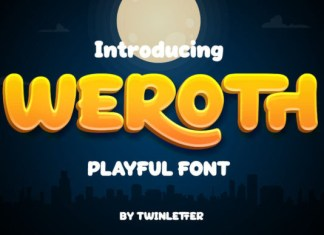 Weroth Font